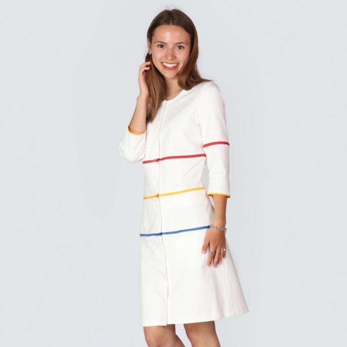 verwandelbares Kleid, Simpel Dress, zip your style