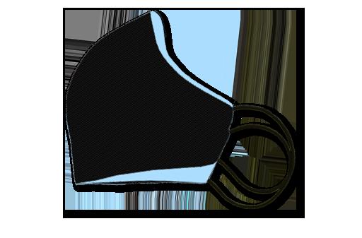 simple dress, Mund- und Nasenmaske