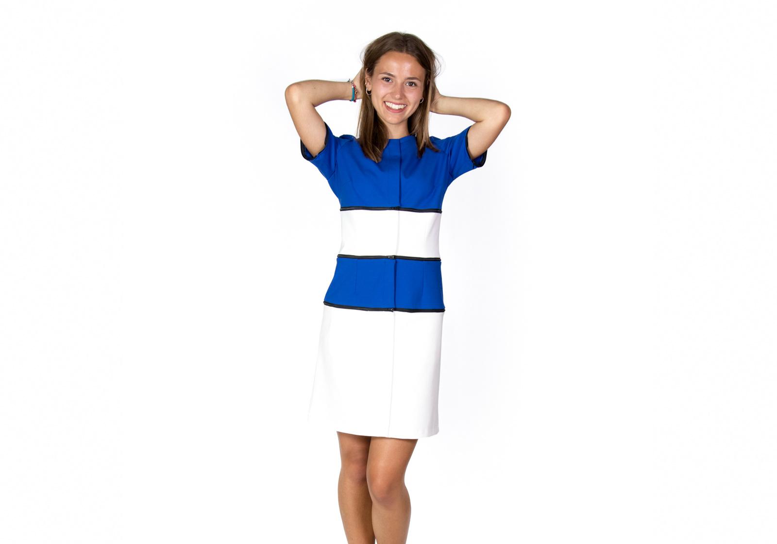simple dress, zip your style, verhandelbare Kleider, für die Frau, nachhaltige mode