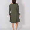 Simple Dress, zip your style, Maxikleid, Sommerkleid, nachhaltige Mode, made in Augsburg, Sweatshirt